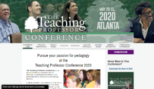 Teaching Professor Conference 2020